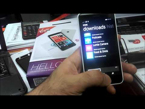 Nokia Lumia 635 vs HTC Desire 816 virgin mobile NEW unboxing review