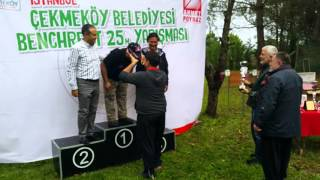 İstanbul Benchrest 2015 25 Meters Championship Cups and Medal Ceremony
