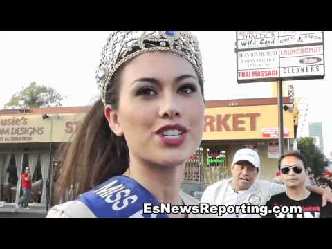 Filipina Beauty Queens: Pacquiao Fans video