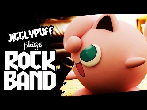Jigglypuff plays ROCKBAND | Gamerboy Media