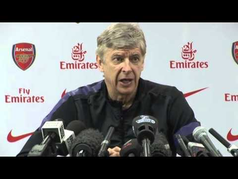 Arsene Wenger on Andrei Arshavin & Norwich