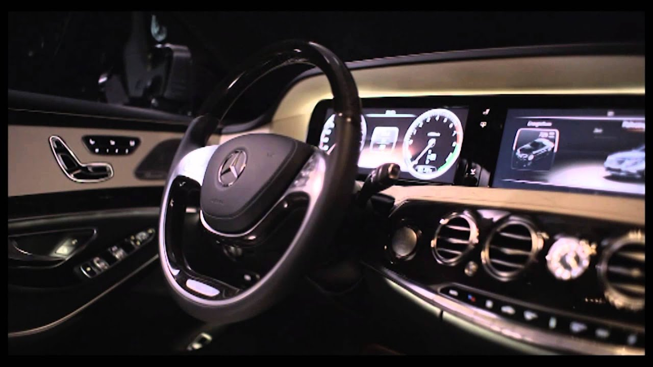 2014 Mercedes-Benz S400 Hybrid - DESIGN AND INTERIOR - Part 1 ...