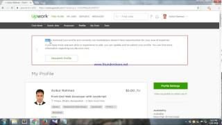 Solve resubmit problem in upwork account