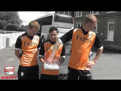 Brede Hangeland, Kerim Frei and John Arne Riise draw Fulham's SEAT competition winner