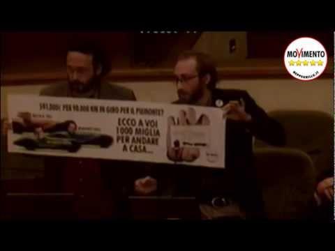 MoVimento 5 Stelle Piemonte – Protesta in Consiglio Regionale