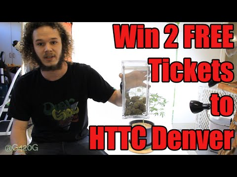 WIN 2 FREE TICKETS TO CANNABIS CUP DENVER! (4 HOURS LEFT)