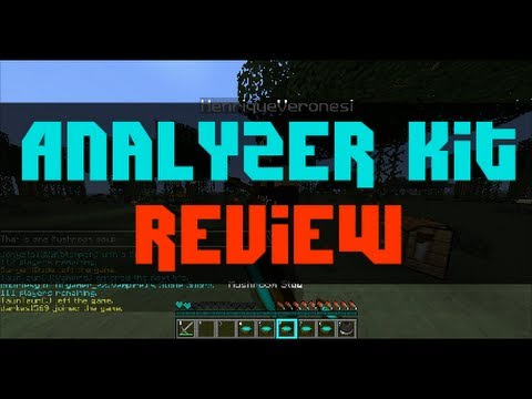 ANALYZER KIT Review   MCPVP   Hunger Games