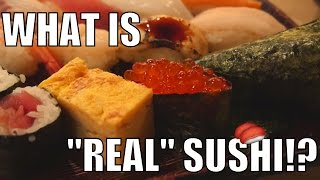 THAT'S NOT REAL SUSHI!! 5 TYPES OF SUSHI IN JAPAN
