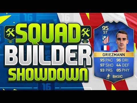 FIFA 16 SQUAD BUILDER SHOWDOWN!!! TEAM OF THE SEASON GRIEZMANN!!! The Best Striker On Fifa 16?