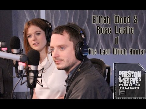 Elijah Wood and Rose Leslie  - Preston & Steve's Daily Rush