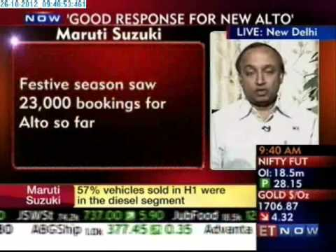 ET Now - Festive Demand Outlook - Maruti Suzuki