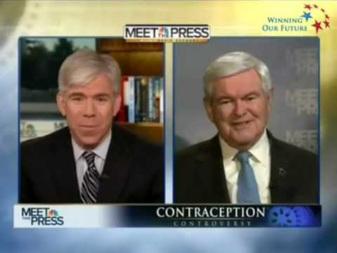 Newt Gingrich Owns David Gregory EVERYTIME, Owns Liberal Media EVERYTIME
