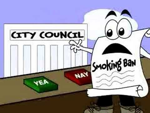 How a Smoking Ban Becomes a Law!