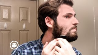 SHAVING OFF A BEARD: Wet Shave Tutorial