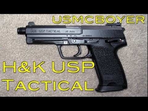 H&K USP Tactical Review -