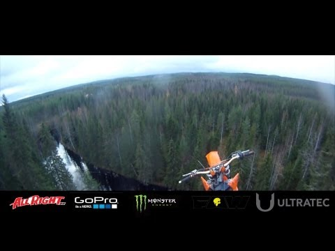 StuntFreaksTeam - Antti Pendikainen Motocross Base Jump from 40m