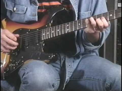 DANN HUFF- Instructional dvd-Studio work - Guitar technique /PART 3/ Stay