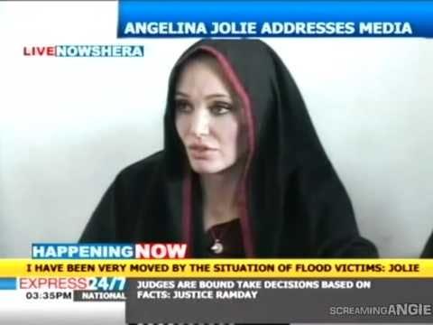 ANGELINA JOLIE ' PAKISTAN TO MEET FLOOD VICTIMS '