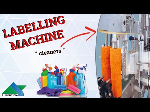 Albertina - Filling line for cleaners 02