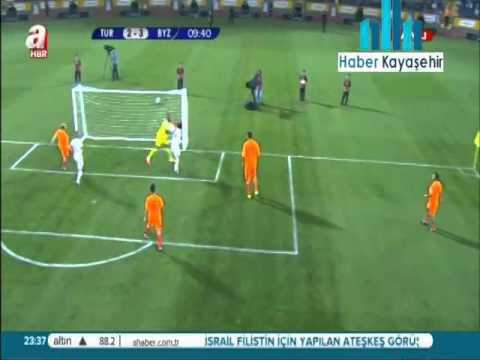 Başbakan Erdoğan'dan Başakşehir Fatih Terim Stadyumu'nda Futbol Resitali