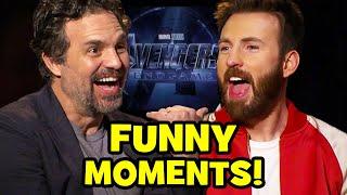 AVENGERS ENDGAME Cast Funny Interviews