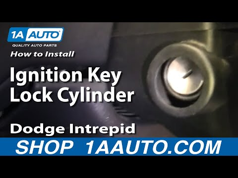 How To Install Repair Replace Ignition Key Lock Cylinder Dodge Intrepid 98-04 1A