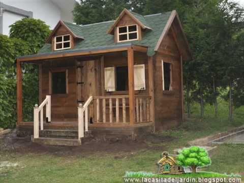 Construccion paso a paso de casita infantil para ni os dia for Casas de jardin infantiles