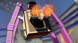 HELLO SPIDERTRON 7000! - Best Workshop Levels - Clone Drone In The Danger Zone Gameplay