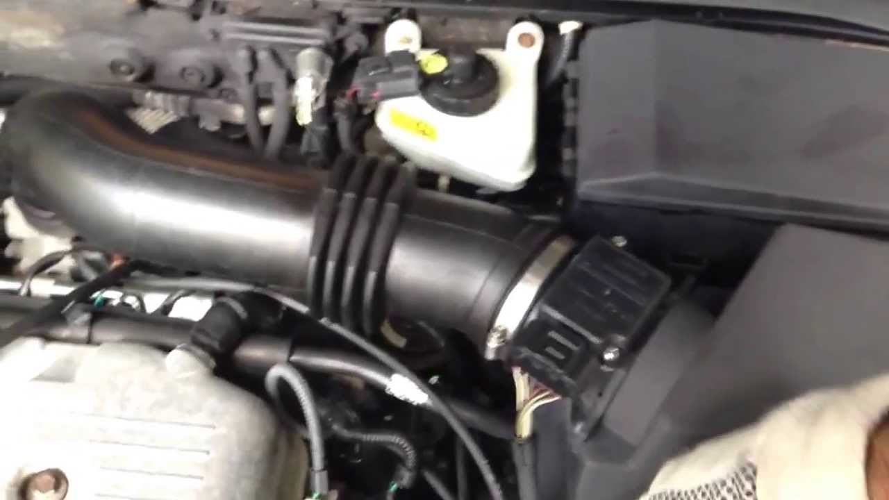 Ford Focus 2000 Changing Pvc Valve Due To Error Code P0171