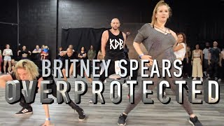 Overprotected - Britney Spears | Brian Friedman Choreography | MVO Workshop for Donyelle Jones