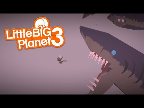 LittleBIGPlanet 3 - Plane Crash. Plane Crash. And More Plane Crash. [Playstation 4]