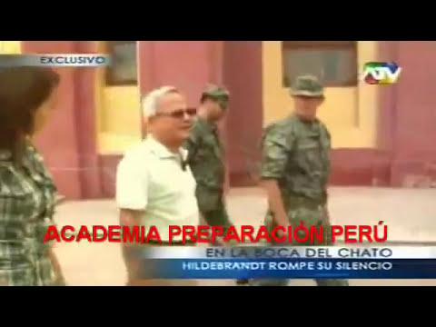 César Hildebrandt visita el Colegio Militar Leoncio Prado