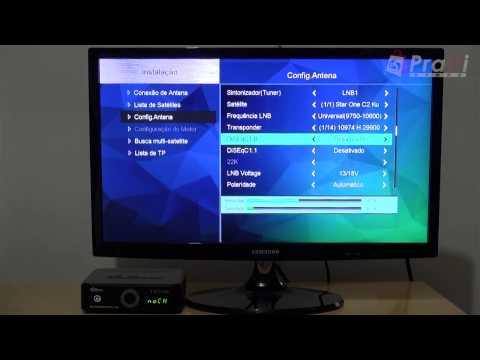 Review Tutorial Atualização Configuração DuoSat Troy HD - Dicas Pratti Store