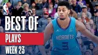NBA's Best Plays   Week 23