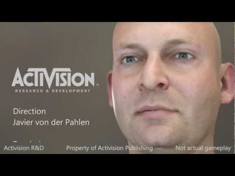 Activision R&amp;D Real-time Character Demo