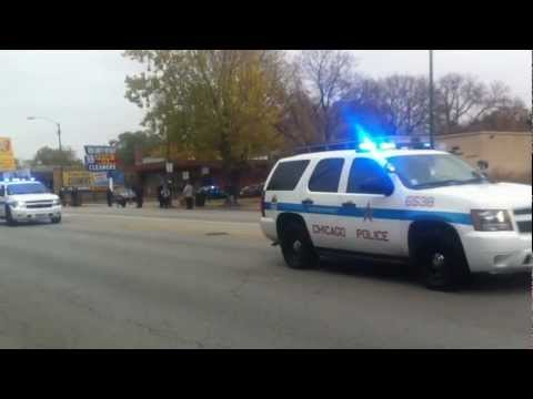 CFD Capt. Herbie Johnson Funeral Procession (PT. 1)