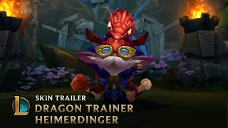 Test Your Wings | Dragon Trainer Heimerdinger Legendary Skin Trailer - League of Legends