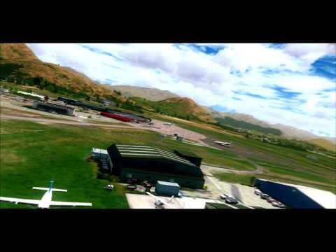 FSX Movie | ORBX Queenstown Airport | NZQN