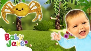 Baby Jake - Itsy Bitsy Spider   Full Episodes   Yaki Yaki Yogi   Cartoons for Kids