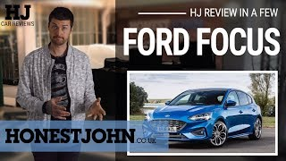 Car review in a few | 2018 Ford Focus - pure class...but choose wisely