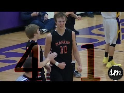 Luke Kennard responds to Overrated Chant - 41 points in WIN over Bellbrook [247Sports #12 c/o 2015]