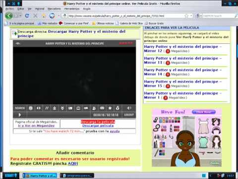 tutorial como ver peliculas gratis y sin limite de reproduccion