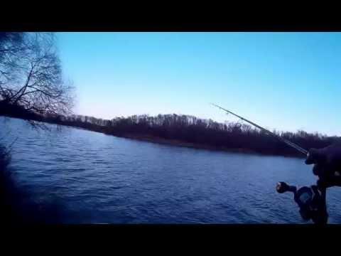 ловля тяжелым джигом с берега