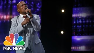 Wrongfully Convicted Man Freed After 37 Years Inspires With 'AGT' Audition | NBC Nightly News