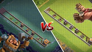 KAMPFMASCHINE vs BARBARENKÖNIG! || CLASH OF CLANS || Let