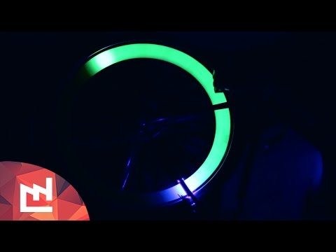 DIY project : Glowing bike with ultraviolet LEDS