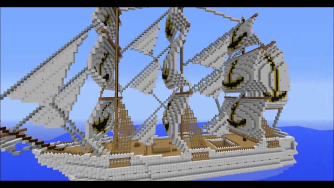 Navio Grand Grandes Navios Minecraft