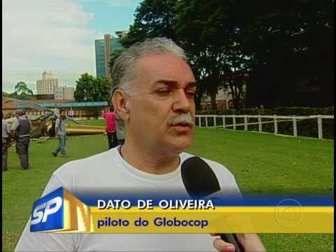 Rede Globo mostra como foi a queda do helicóptero TV Record