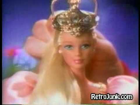 Barbie Rapunzel doll commercial