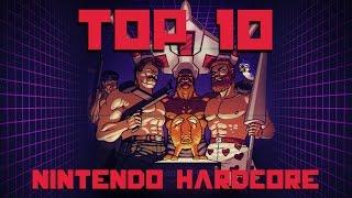 True TOP 10 Hardest NES games
